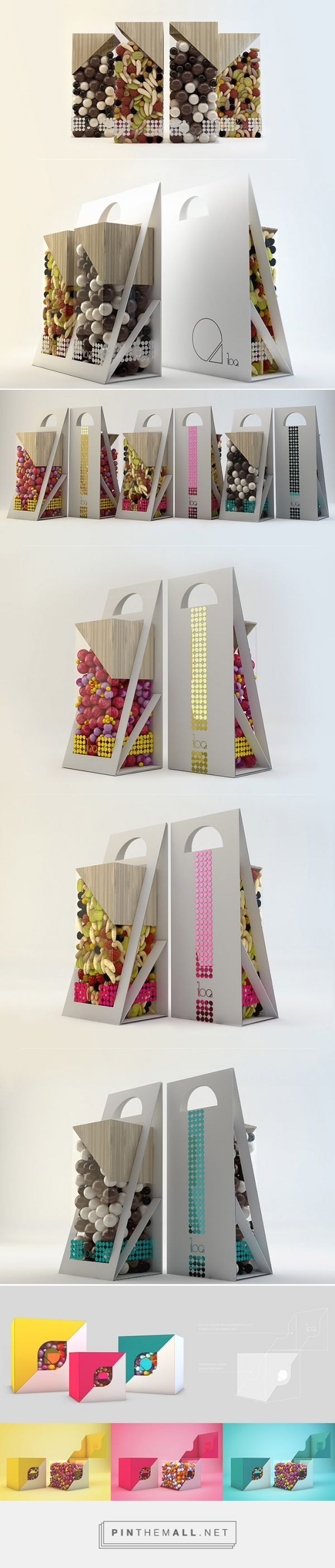 Iloa candies by Inés Ortega San Miguel. Pin curated by #SFields99 #packaging #design