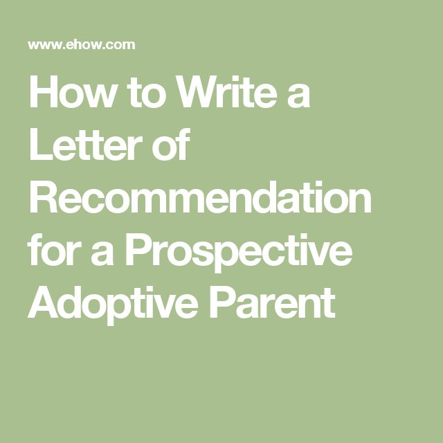 10+ Sample Adoption Reference Letter Templates
