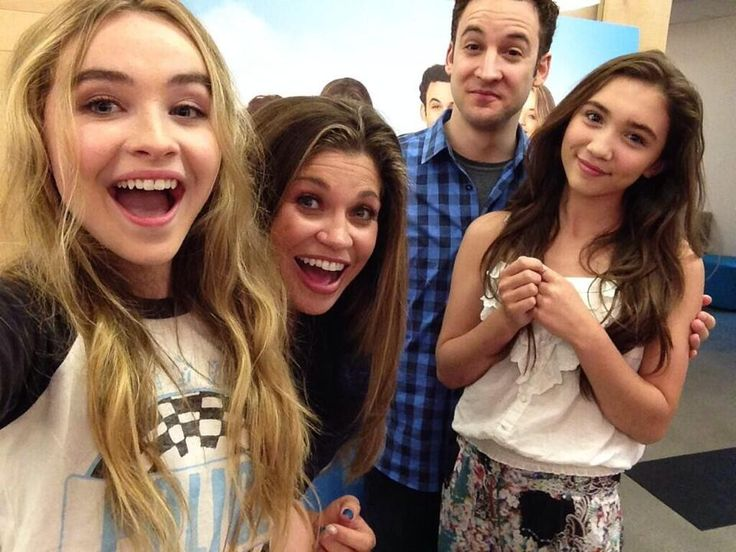 Sabrina Carpenter, Danielle Fishel, Ben Savage and Rowan Blanchard