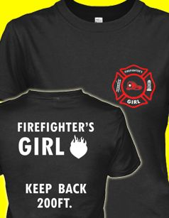 Limited Edition Firefighter's Girl Design.
