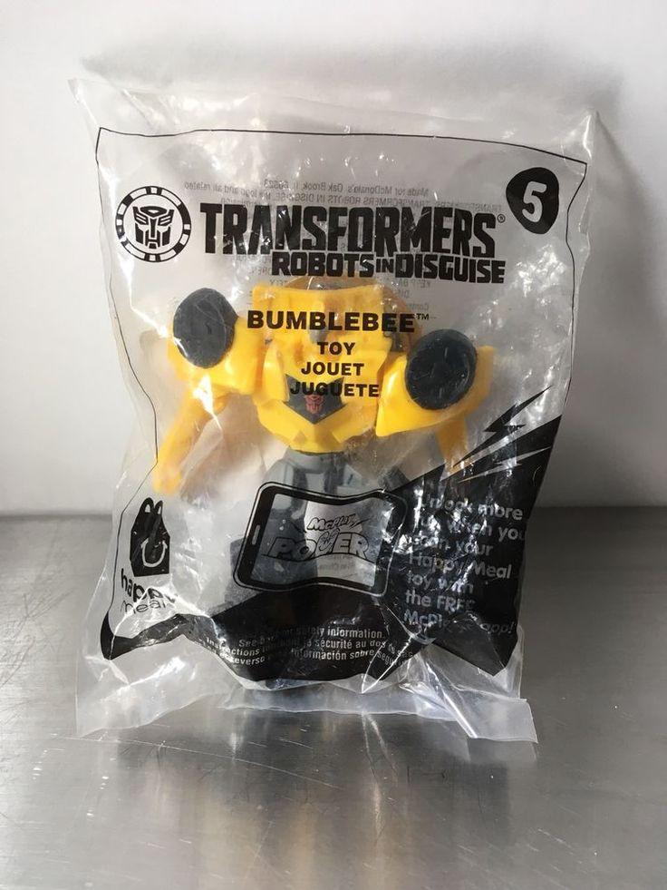 Mcdonald's Transformers #5 Bumblebee BNIP | eBay