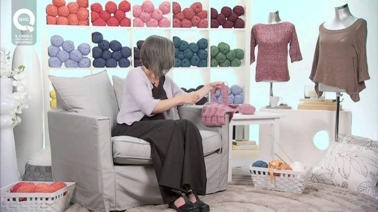Realizzare un collo a rettangoli a maglia/2 Presenta Emma Fassio