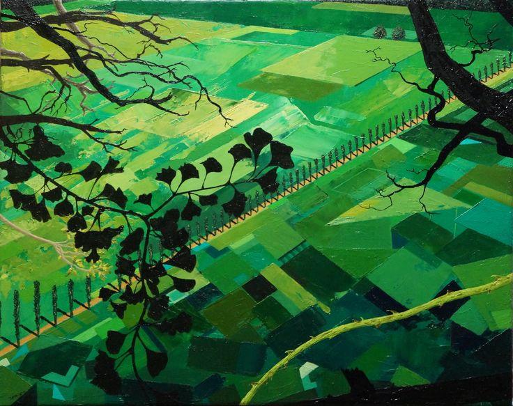 'The Path', oil on canvas, 39.8 x 49.8cm. www.jeremyelkington.weebly.com