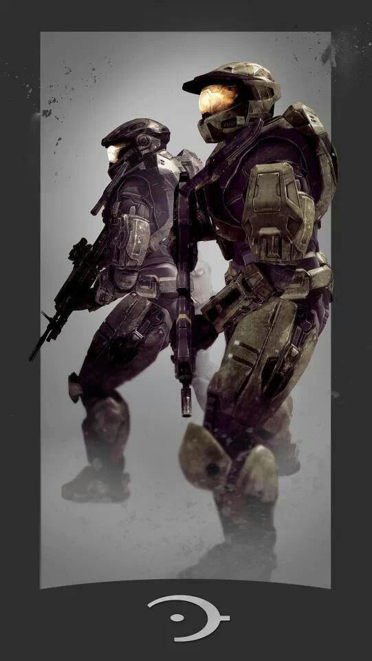 Noble 6 and master chief halo pinterest master chief - Master chief in halo reach ...