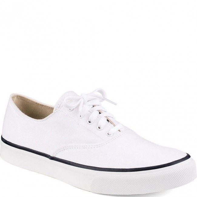 13505708 Sperry Men's Cloud CVO Casual Shoes - White www.bootbay.com