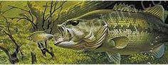 Preying Largemouth Bass Rear Window Graphic