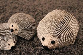 Hejsan ! Har hittat en ny pysselpassion och det är att vika grejer av gamla böcker ! Har ju visat tidigare hur vi använt pärmarna och nu har...