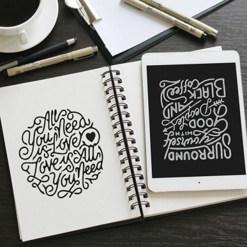 Work by @misterdoodle #typography #betype #lettering...