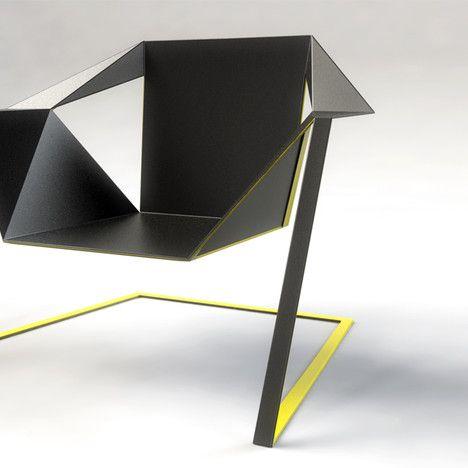 The Zen Armchair by Rafeal Morgan