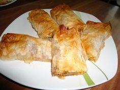 Rezept: Serbische Pita mit Hackfleisch ( hier auch Börek genannt )