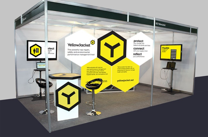 Shell Scheme Idea Exhibition Stand Ideas Pinterest
