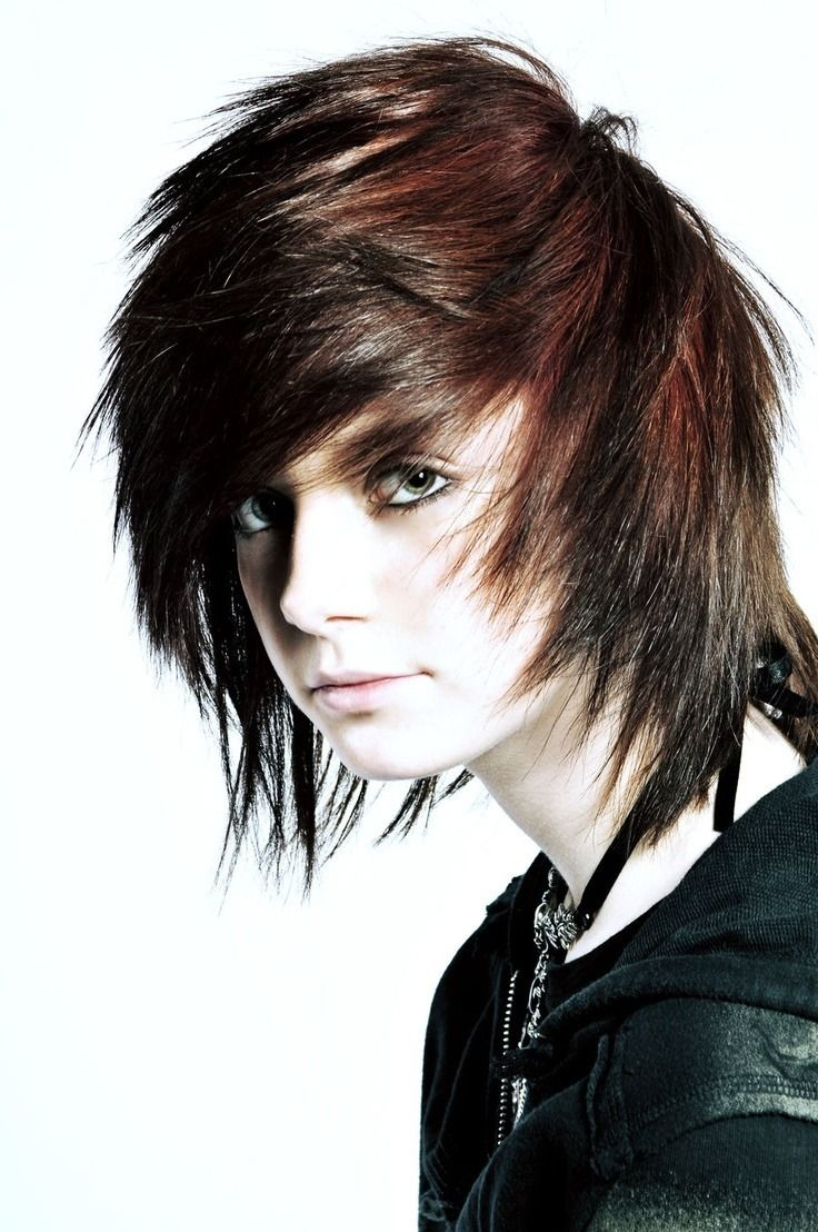 Great Long Hairstyles For Guys  Emo hairstyles for guys, Emo