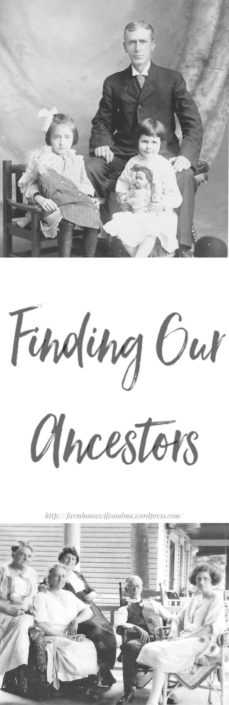 Greetings, Family History, not just for 'old/mature' people. Discovering ones family today is at our finger tips | http://farmhousewifeandma.wordpress.com/