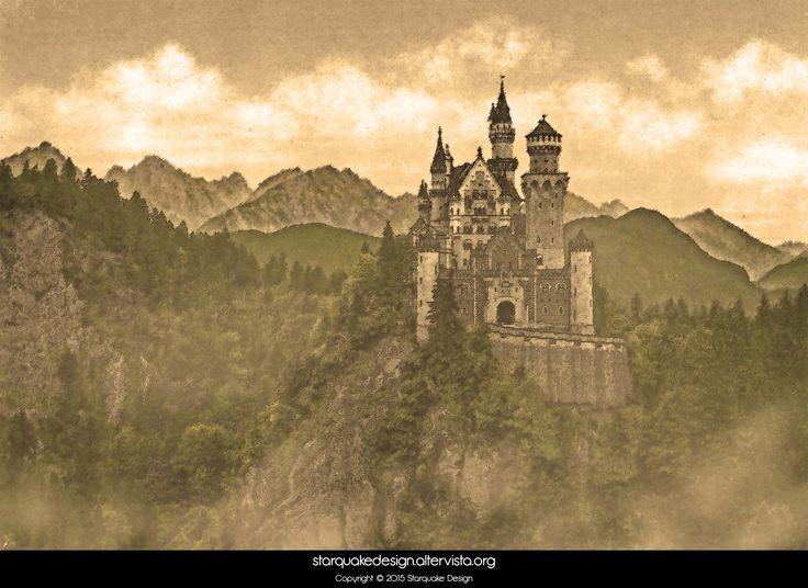 Artistic Castle - 2013 #photoretouching #castle #mountains #starquakedesign