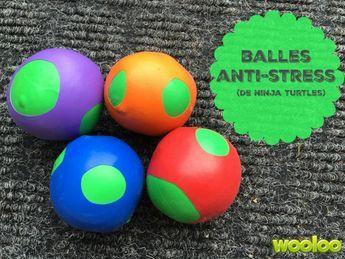Bricolage de balles anti-stress..de Ninja!