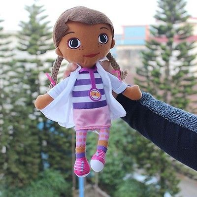 NEW Hot Doc McStuffins doctor girl plush doll cute toy x'mas gifts new arrival U