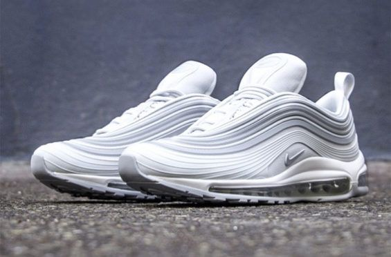 Uomo Air Max 97 Ultra 17 Premium Pure Platinum Bianco, Nike Bianco Nike Air Max 97