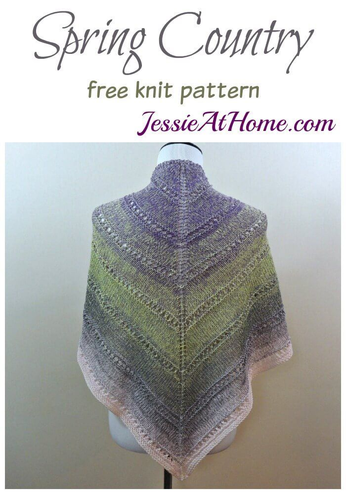 8a9ff96137dd Spring Country free knit pattern by Jessie At Home