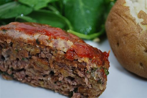 meatloaf`````may not be the healthiest but it sounds like it is ...