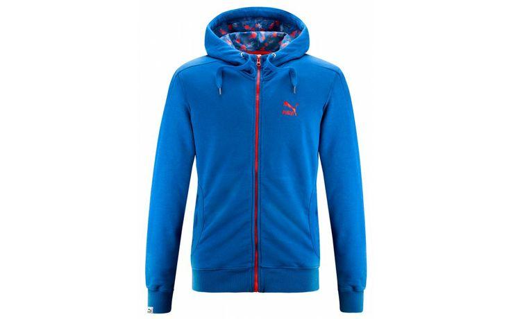 PUMA FULL-ZIP HOODIE FLOREAL PACK #PUMA #awlab #apparel #clothing #floreal