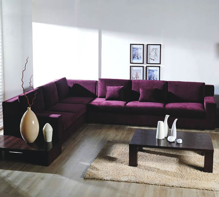 Purple Sectional.