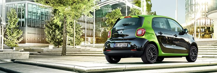smart forfour prime electric drive