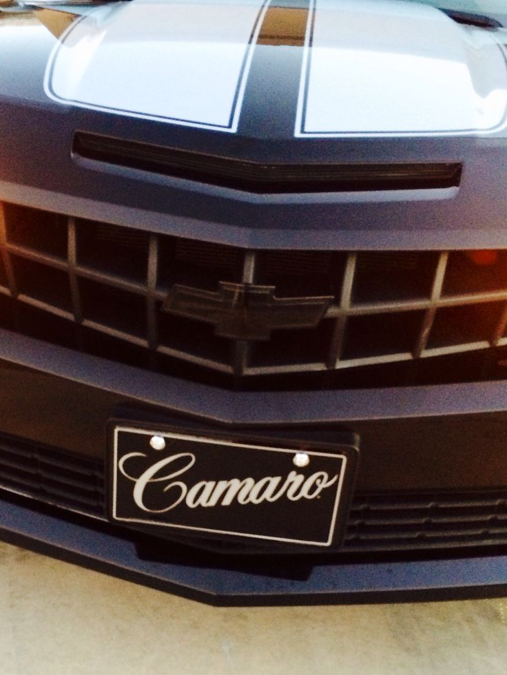 Blacked out Camaro Bowtie's..