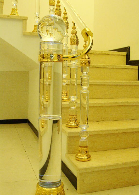 crystal staircase crystal home decor. have to find a place for this in my home!!