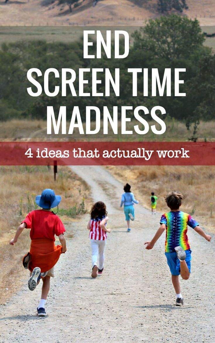 Ideas and solutions for parents who want to limit their kids screen time at home.