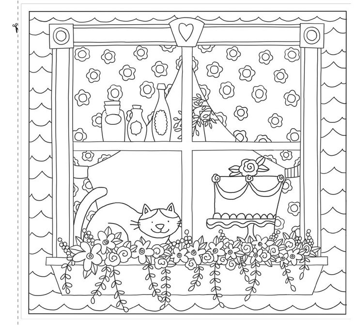 Life Is Delicious A Coloring Book For Grown Up Girls From The Cafe