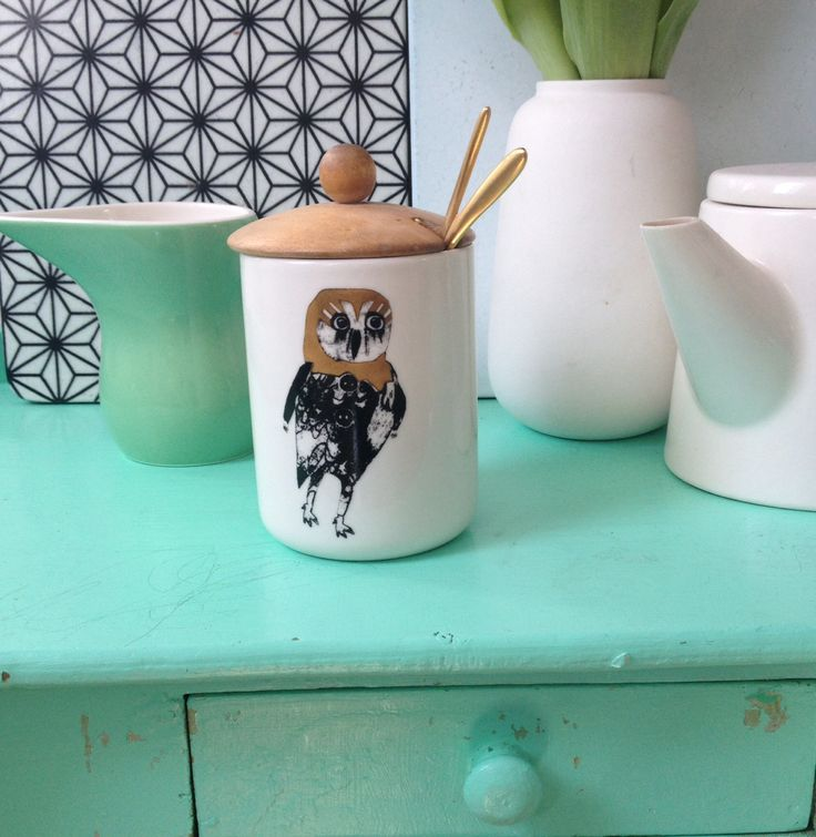My own little owl sugar Bowl...