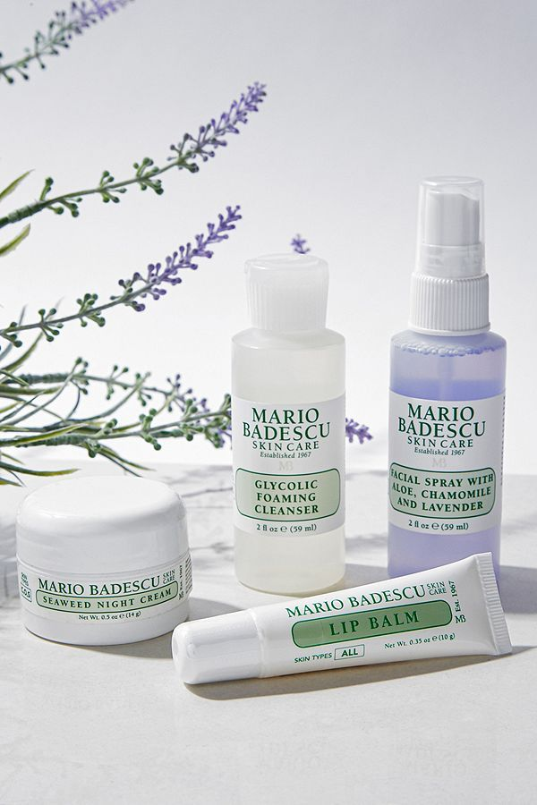 Mario Badescu Mini Must Haves Set Pm Edition In 2020 Mario Badescu Lip Balm Ingredients Best Mario Badescu Products