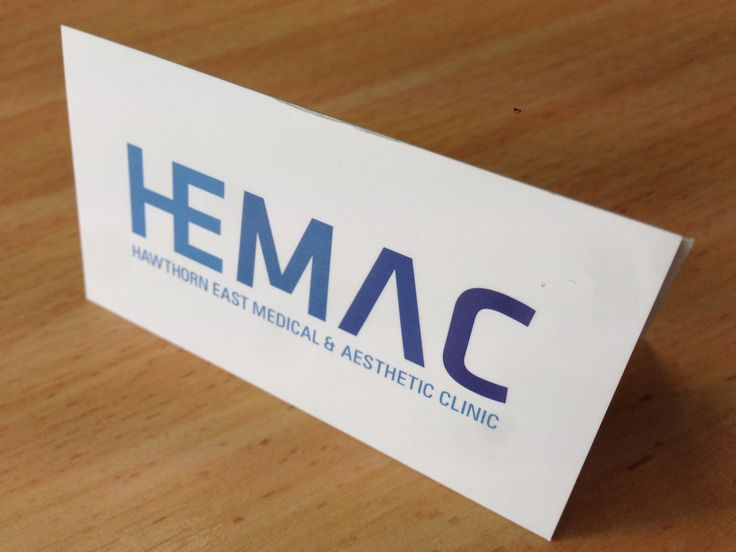 7 best business cards flyers images on pinterest hawthorn east medical and aesthetic clinic business card printed onto reflective uv glossing reheart Choice Image