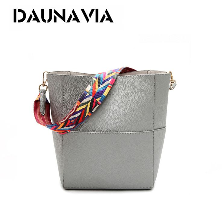 DAUNAVIA Luxury Handbags Women Bag Designer Brand Famous Shoulder Bag Female Vintage Satchel Bag Pu Leather Gray Crossbody ND549 //Price: $17.00 & FREE Shipping //