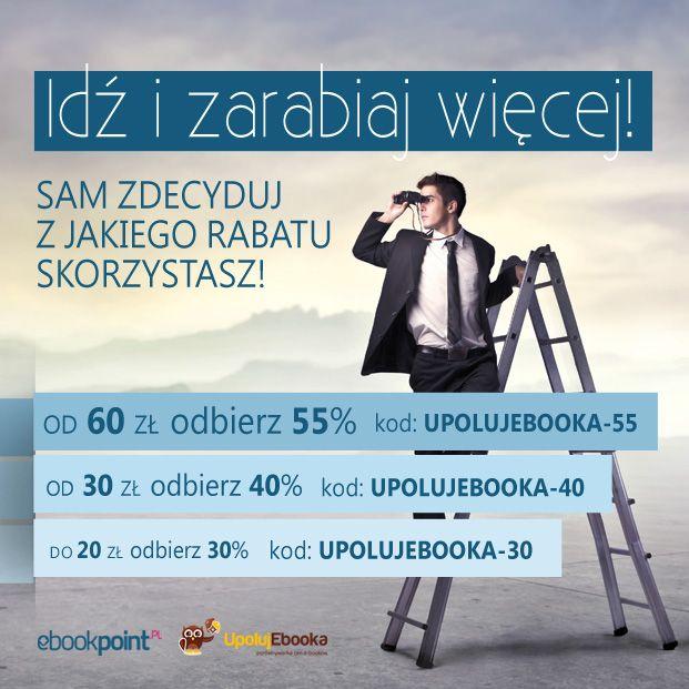 Warto czytać o biznesie i social media.   Teraz 55% taniej  http://upolujebooka.pl/tag,upolujebooka-55.html