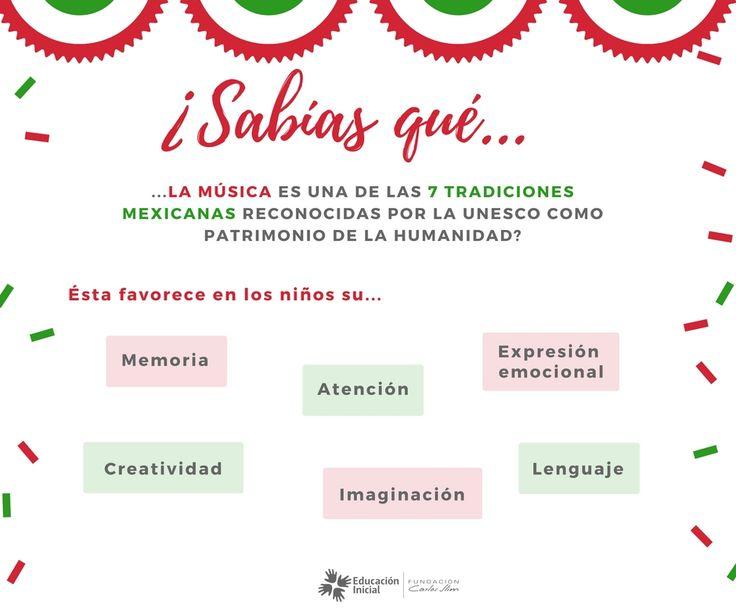 #Música #16DeSeptiembre #México #Tradición #Estimulación #Movimiento #niños #bebés