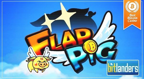 BitLanders developed FlapPig, a new game that rewards players with free Bitcoin as a way to help support and promote Bitcoin through mobile games.