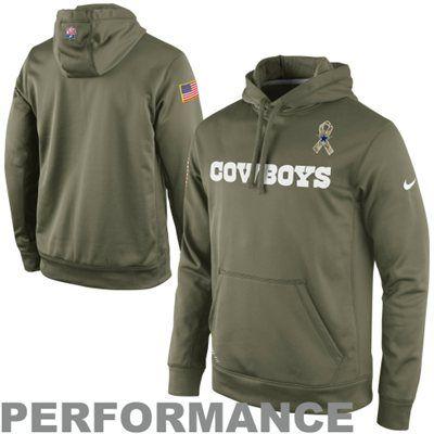 ... Dallas Cowboys Salute to Service Nike KO Pullover Performance Hoodie  Dak Prescott Dallas Cowboys Apparel Dallas Cowboys Mens ... 7fd335db9