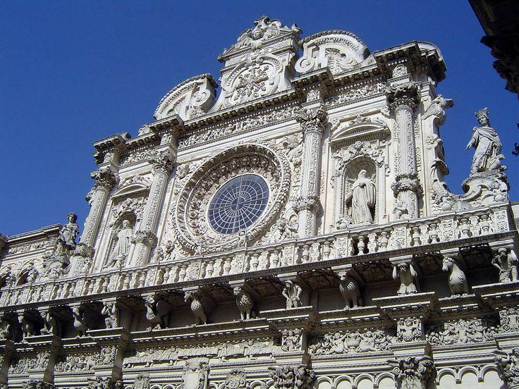 Basilica di Santa Croce http://www.pugliaandculture.com/touristic-places-in-puglia/lecce-the-baroque-town