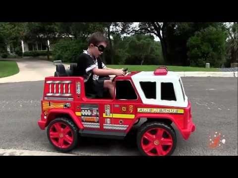 Маленькие герои 4 -  похититель, пожарной машины и Бэтмобиль