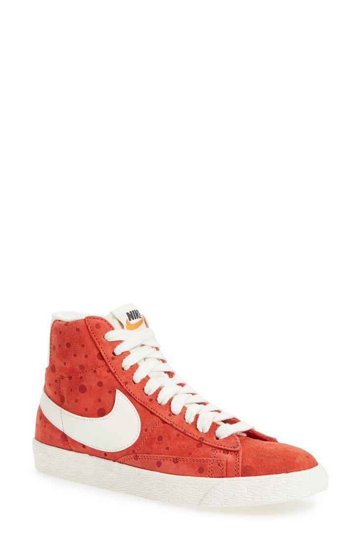 Free shipping and returns on Nike 'Blazer' Vintage High Top Basketball Sneaker (Women) at Fashiondoxy.com. Take a time machine back to 1973 with a legendary suede-upper high-top basketball sneaker first popularized by George 'The Iceman' Gervin