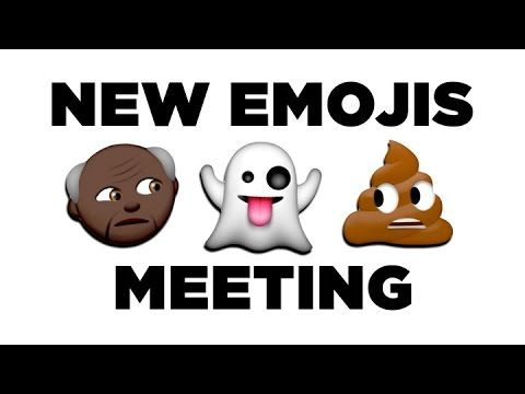 College Humor — The New Emojis Have a Meeting