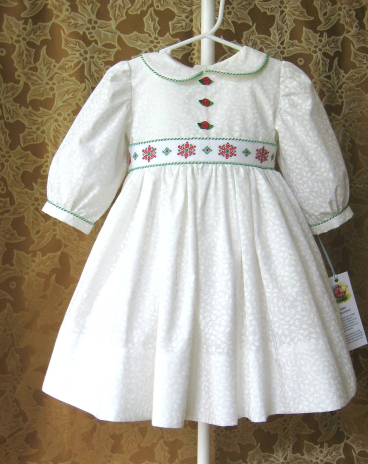 Toddler Girl Christmas Dress with Crinoline Petticoat. $75.00, via Etsy.