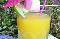 Cocktails de fruits et pineau des Charentes