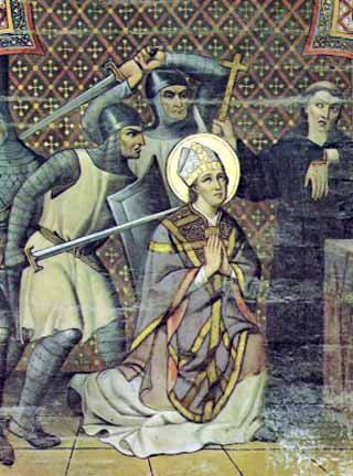 Saint of the Day – 29 December – St Thomas a Becket (1118-1170) – Born on 21 December 1118 at London, England and was murdered on 29 December 1170 in the Cathedral at Canterbury, England.   Patronages – • clergy• Exeter College, Oxford, England•Portsmouth, England• secular clergy.   Attributes – Sword, martyrdom, ...