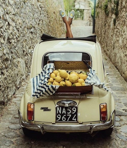 Lemon, Fiat, And Italy Image