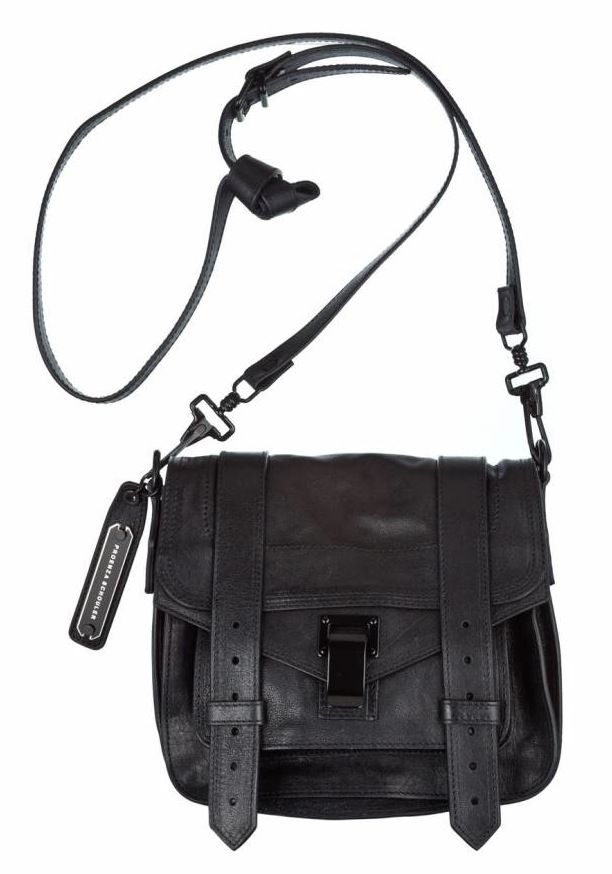 cdca067fa Proenza Schouler | PS1 Pouch Leather Bag in Black | Dress-up | Leather  satchel handbags, Ps1 bag, Pouch bag