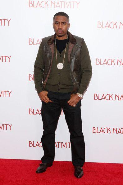 Nas - 'Black Nativity' Premieres in NYC