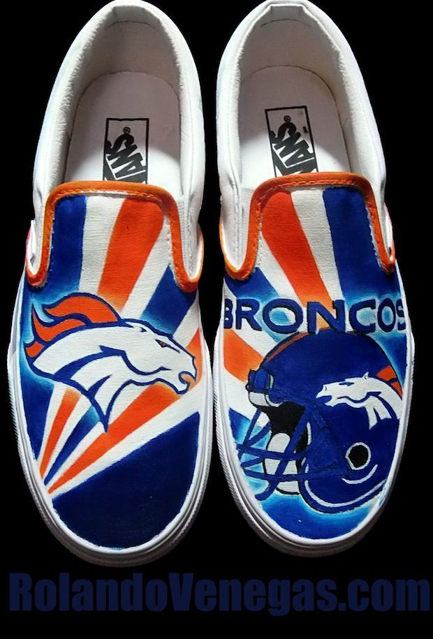 Denver Broncos Custom Sneakers