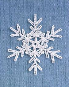 FREE PATTERNS ~ Crochet snowflake patterns = Love!